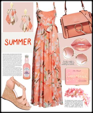 Summer Blush. Summer Breeze