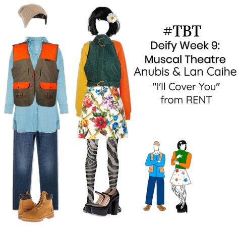 #TBT Deify Week 9 Duet Anubis and Lan Caihe