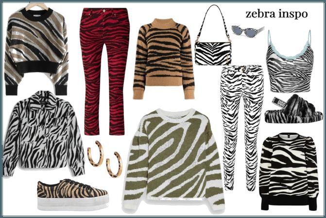 zebra inspo