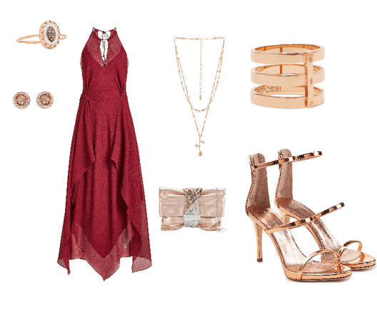 Rose Gold Formal