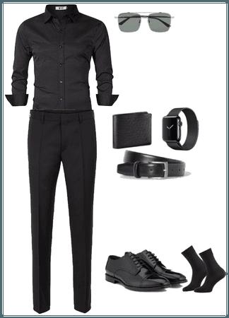total look noir