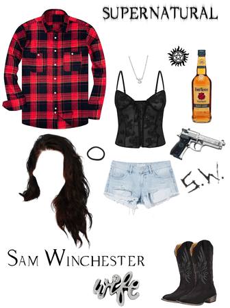 Sam Winchester's Wife OC