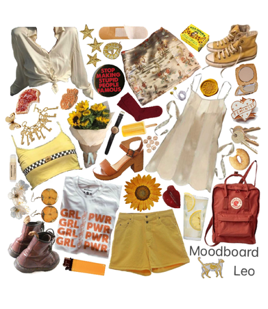 Leo Moodboard
