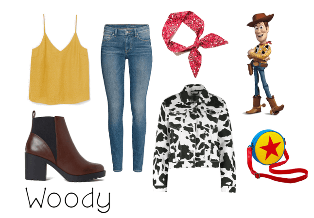 Woody (Toy Story) - Disneybound
