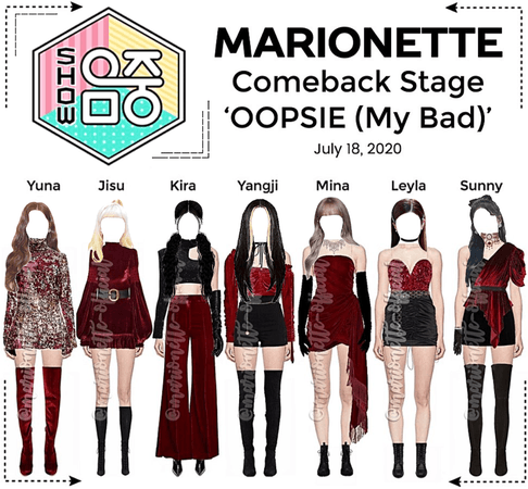 MARIONETTE (마리오네트) [SHOW! MUSIC CORE] Comeback Stage