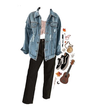 fall and ukulele