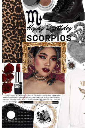 Scorpio birthdays