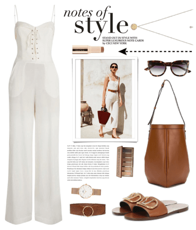 Get The Look: Ivory Jumpsuit