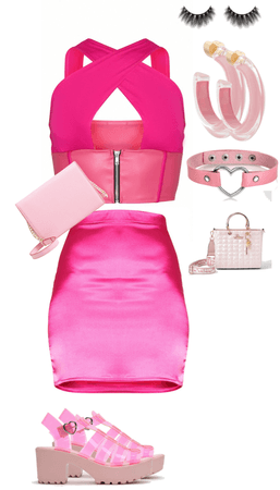 cute pink outfit for girls