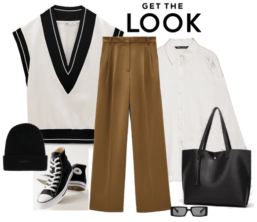 casual sporty look