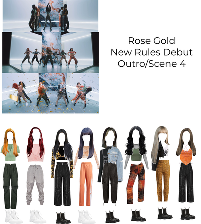 Rose Gold New Rules Debut Outro/Scene 4