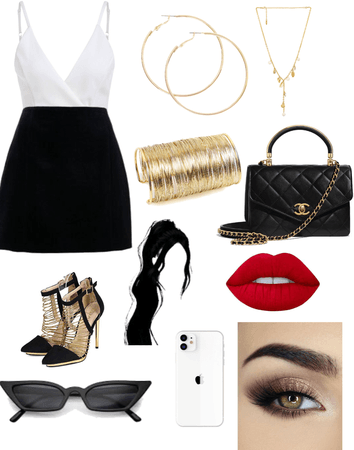 short hems and heels