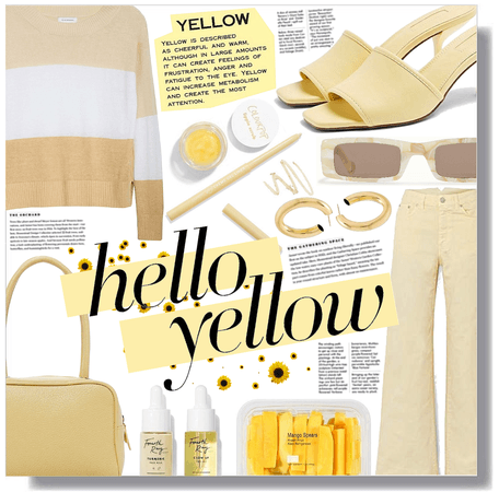 hello yellow! 💛