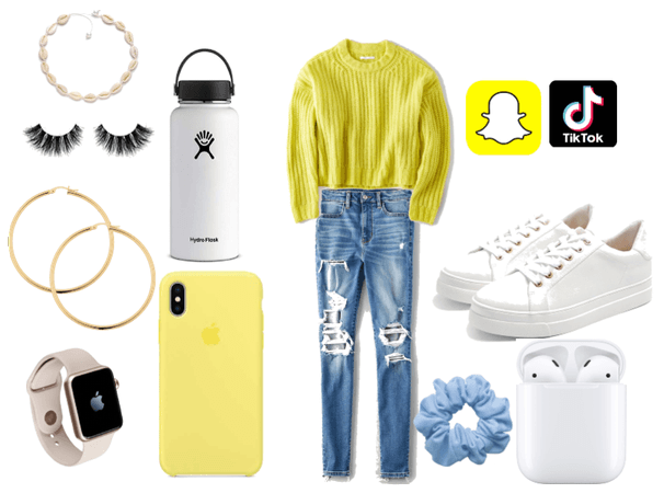 Vsco school outfit