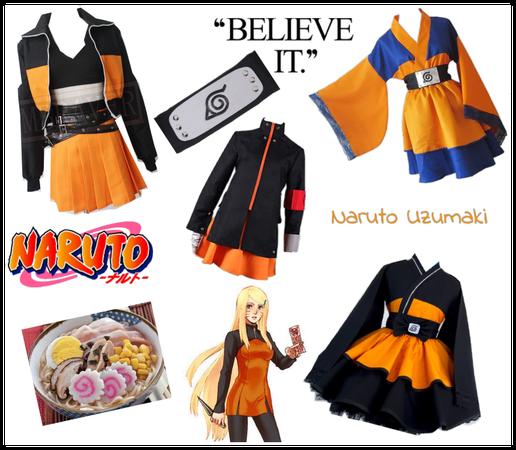 Naruto Uzumaki Female Cosplay
