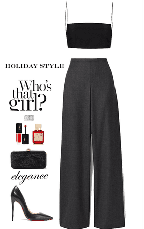 Holiday style.
