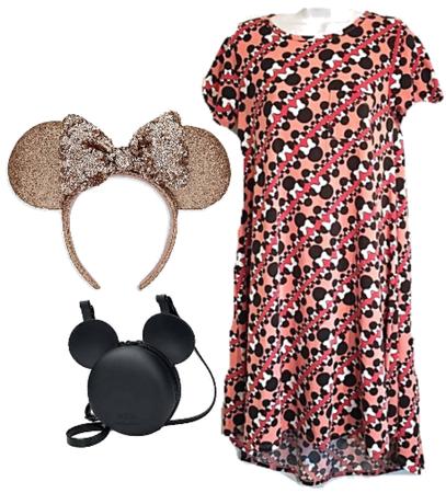 Disney X Lularoe Minnie Mouse Dress