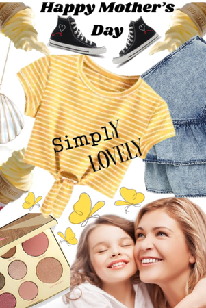 |For Mother's Day Challenge| Simply Lovely|