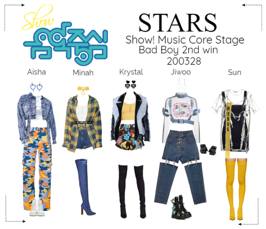 STARS   Music Core Stage   Bad boy 2nd win