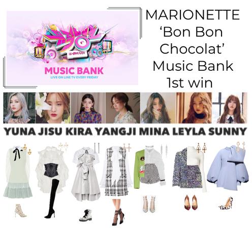 {MARIONETTE} 'Bon Bon Chocolat' Music Bank 1st Win