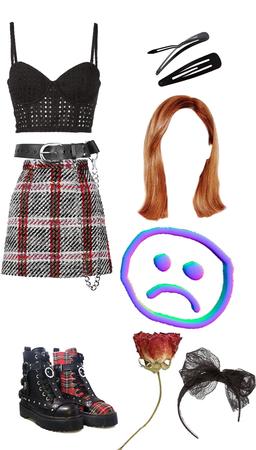 k-popish outfit