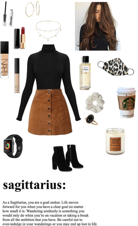 fall suede skirt style