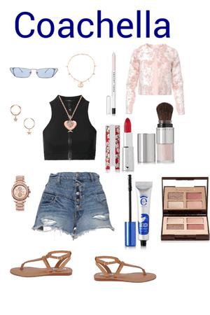 Pink Coachella