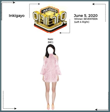 Nabi (나비) Inkigayo MC