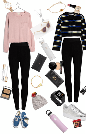 cute 2 basic outfits