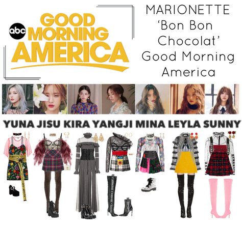 {MARIONETTE} Good Morning America
