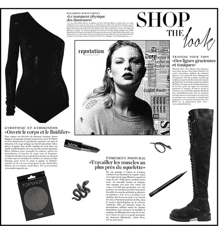 Shop The Look - Reputation Edition