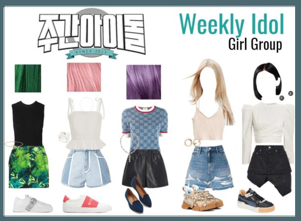 Weekly Idol Girl Group