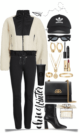 easy,chic,cozy and winter look