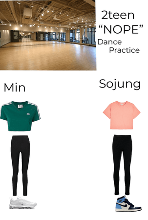 2teen nope dance practice