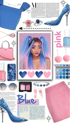 Blue 'n pink 💙👛