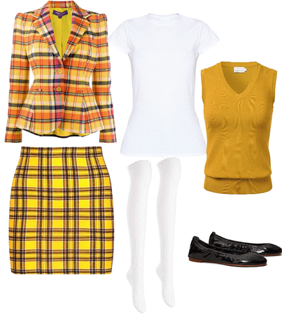 Cher horowitz inspired look
