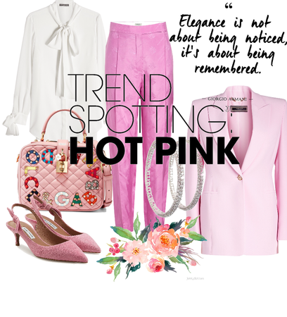 On Trend - Hot Pink