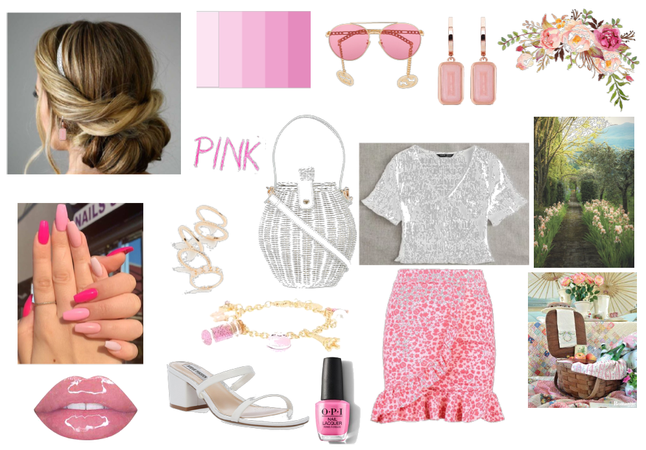 Romantic pink look full of femininity!!!