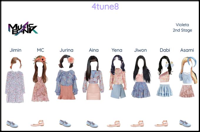 4tune8 - Violeta 2nd Stage (Music Bank)