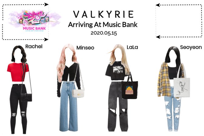 Valkyrie(발키리) Arriving at Music Bank