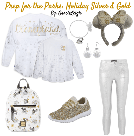 Prep for the Parks: Holiday Silver & Gold