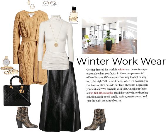 Winter Work Wear