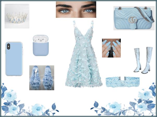 little light blue