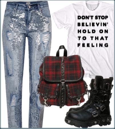 oc - glam punk