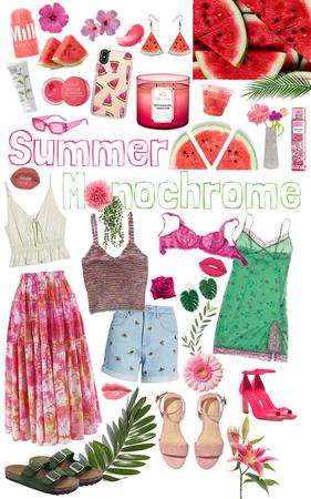 summer monochrome ||