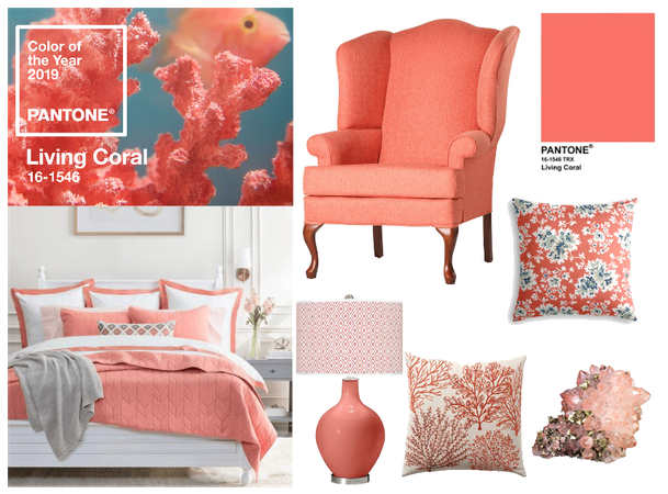 so glad coral is the color of the year