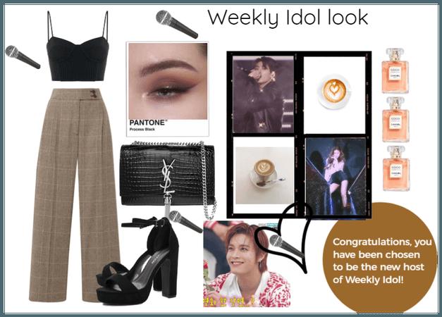 Weekly Idol!!