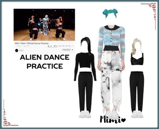 Mimi Alien Dance Practice