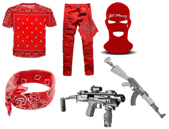 blood gang outfit