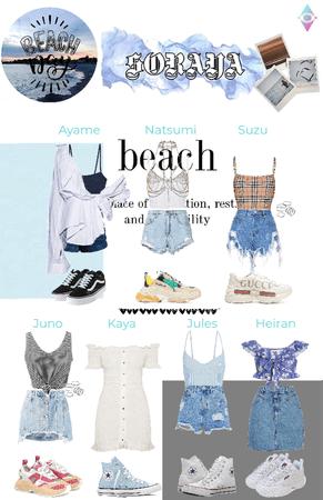 SORAYA beach outfits